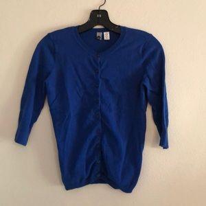 Nordstrom BP Blue cardigan